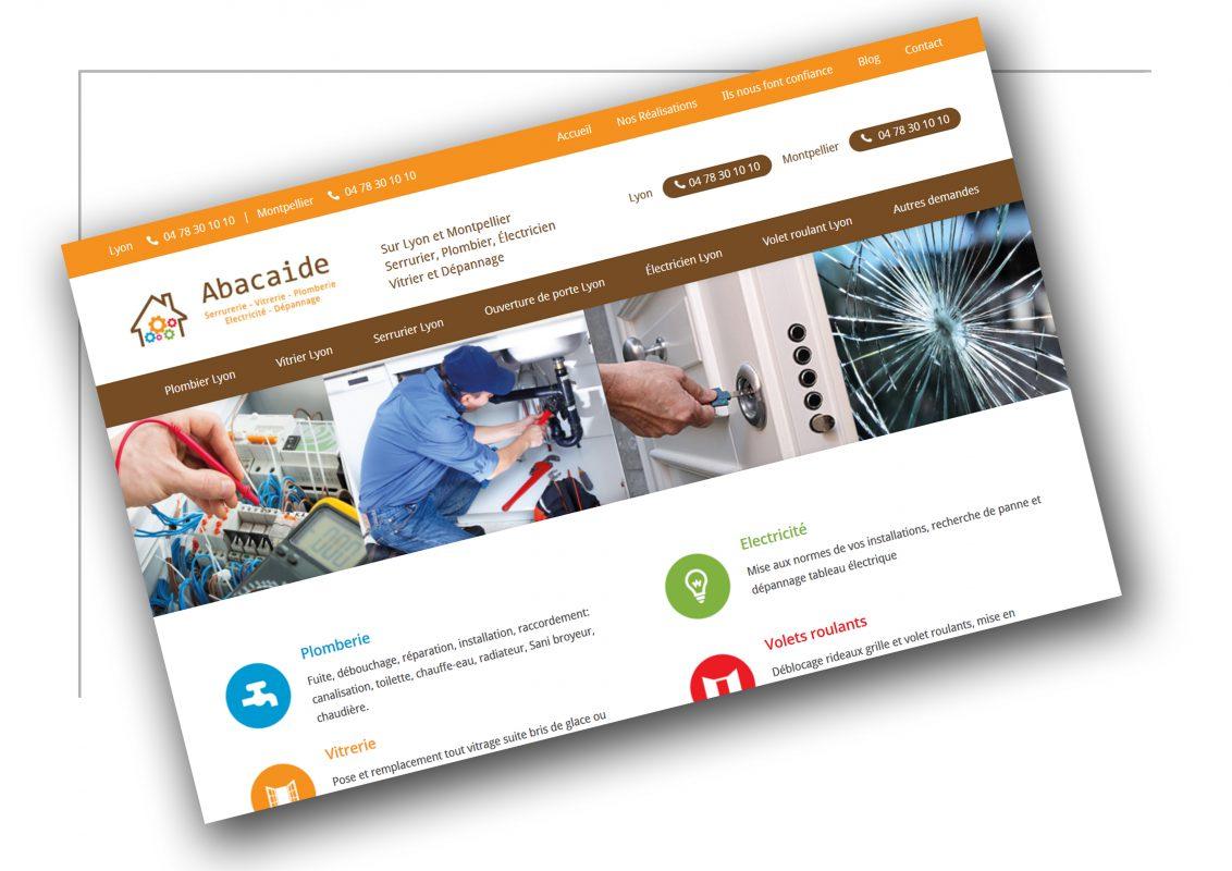 Création de site web Lyon - Abacaide