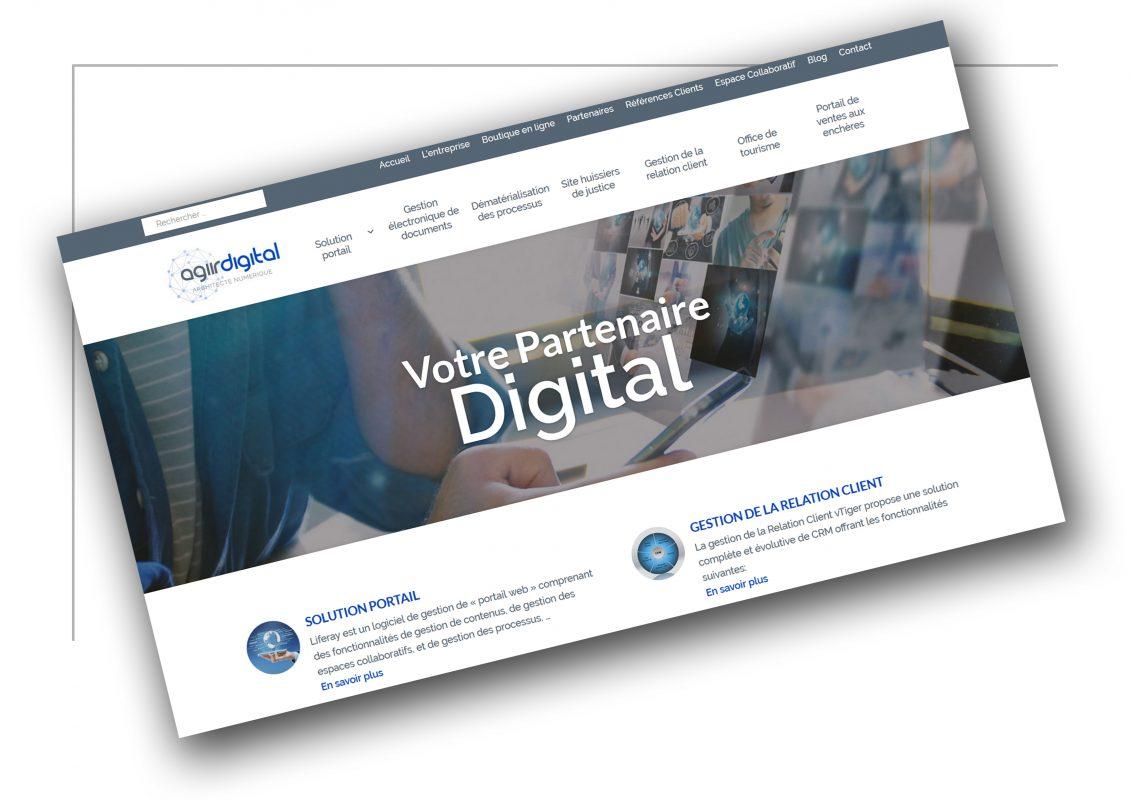 Réalisation de site web Grenoble - Agirdigital