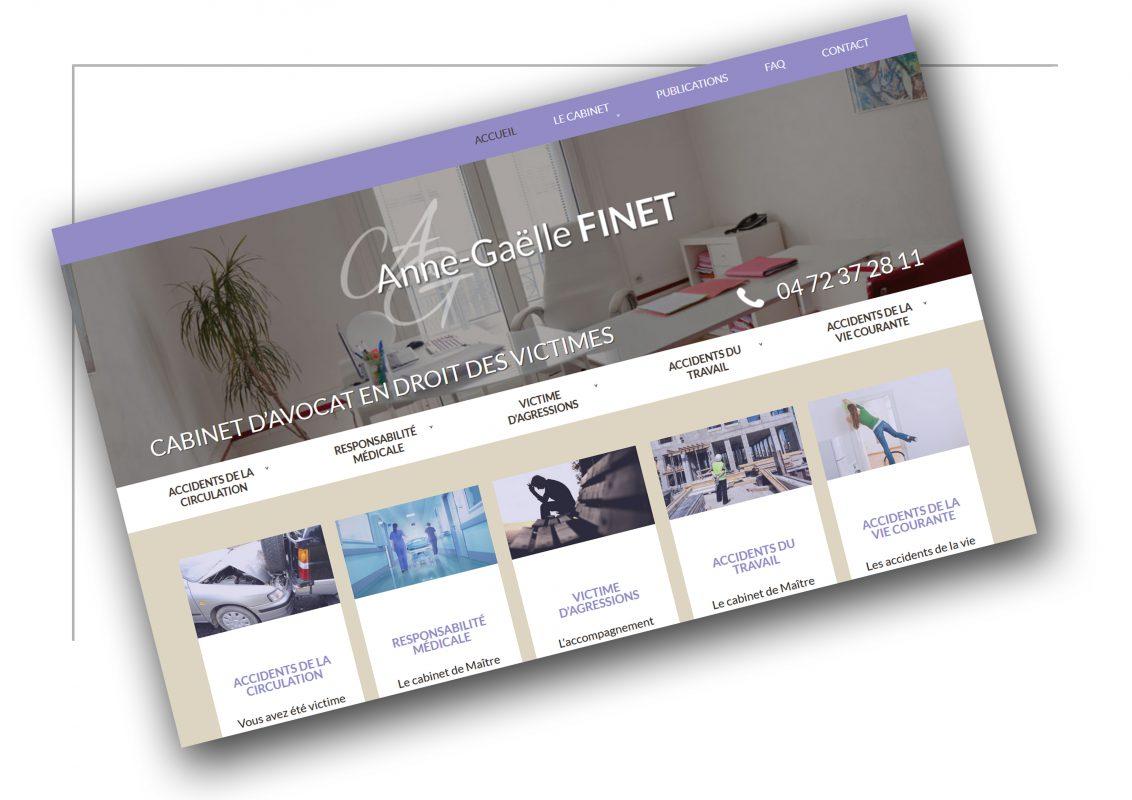 Création de site internet Lyon - Anna Gaëlle Finet