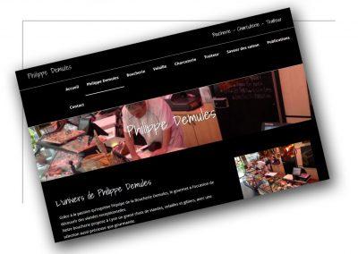 Création de site internet Rhône Alpes -Boucherie Philippes Demules