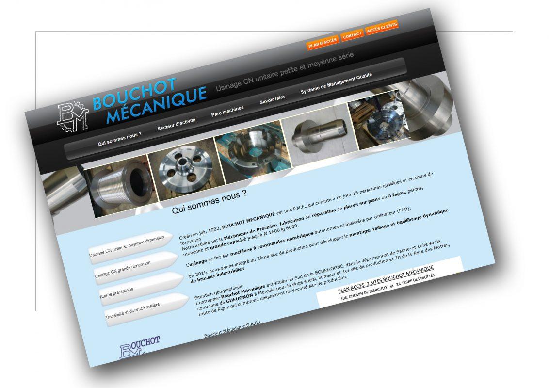Développement de site ecommerce Lyon -Bouchot Mecanique