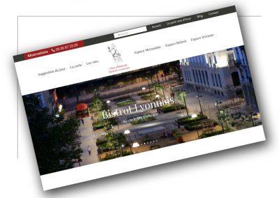 Réalisation de sites vitrines Rhône Alpes -Chez Plumeau