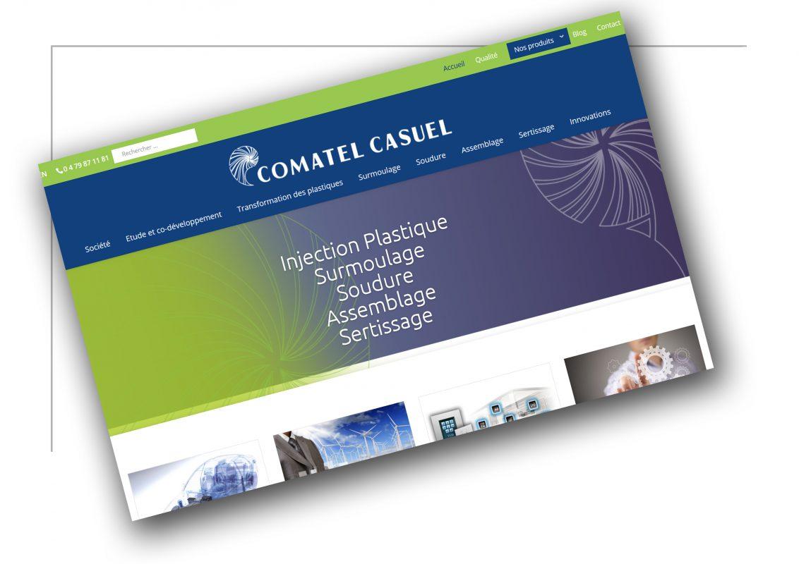 Développement de site web Rhône Alpes Comatel Casuel - XXL Factory