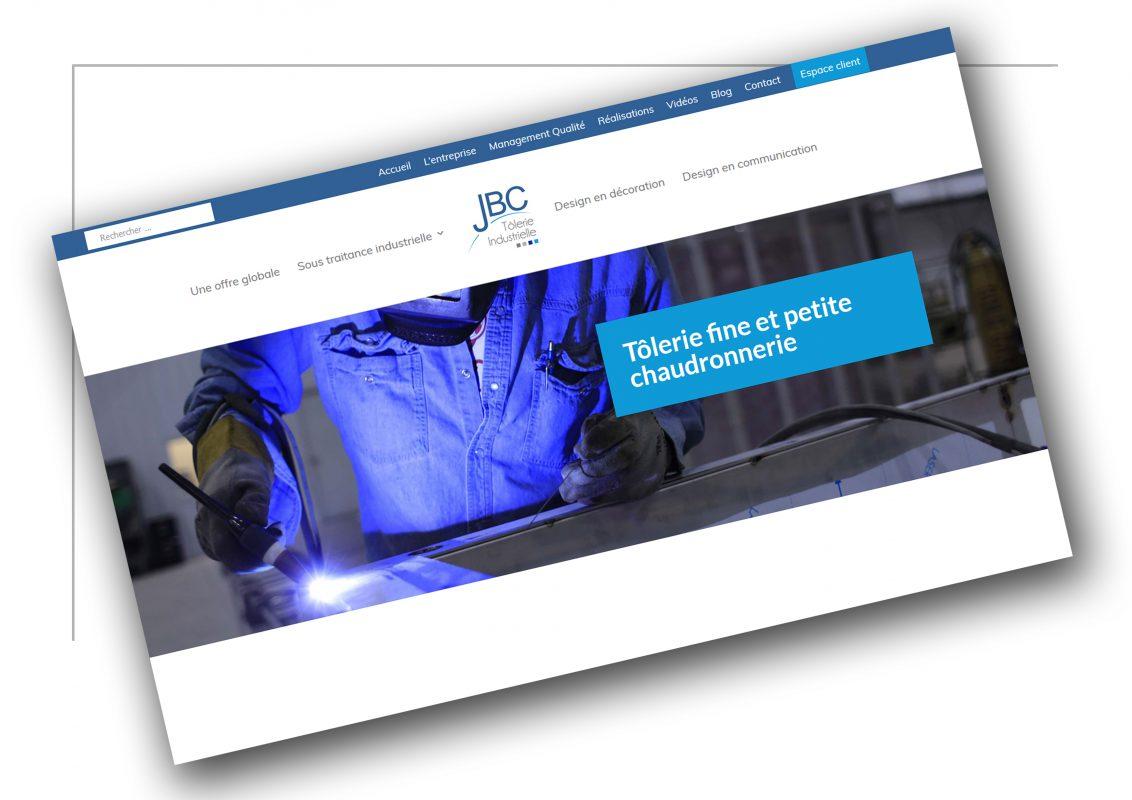 Elaboration de site web Lyon - JBC Tolerie
