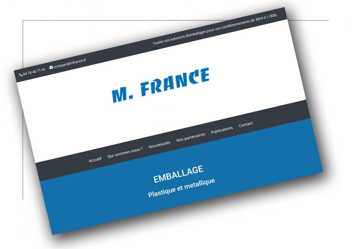 Développement de site vitrine Lyon -M France