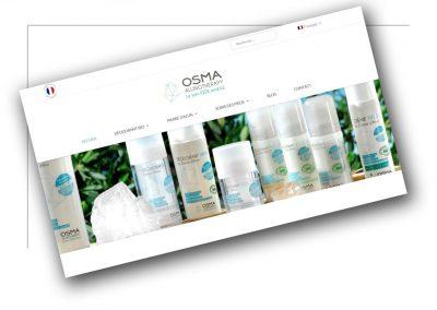 Création de site de vente Rhône Alpes - OsmaAlunotherapy