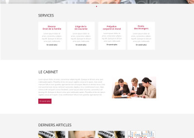 Production de sites vitrine