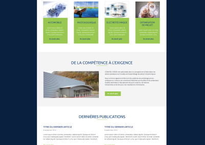 Création de site vitrine Chambéry