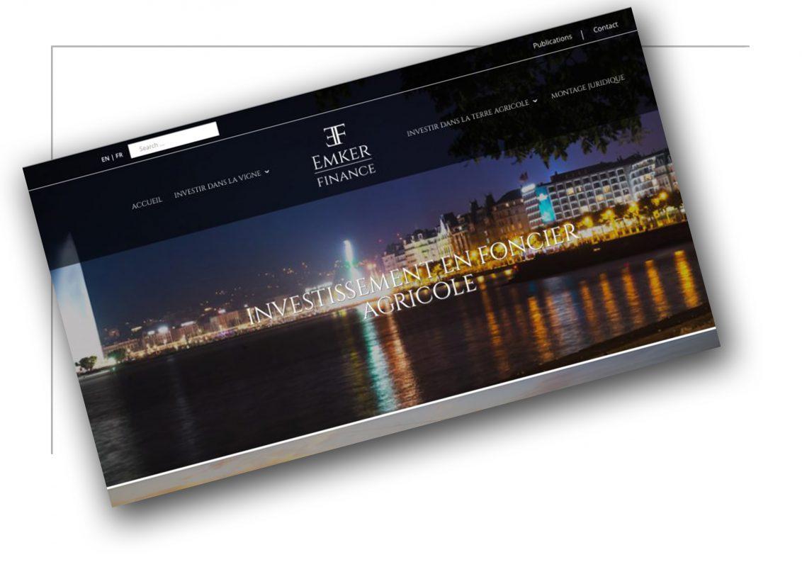 Réalisation de site de vente Lyon- Emker Finance