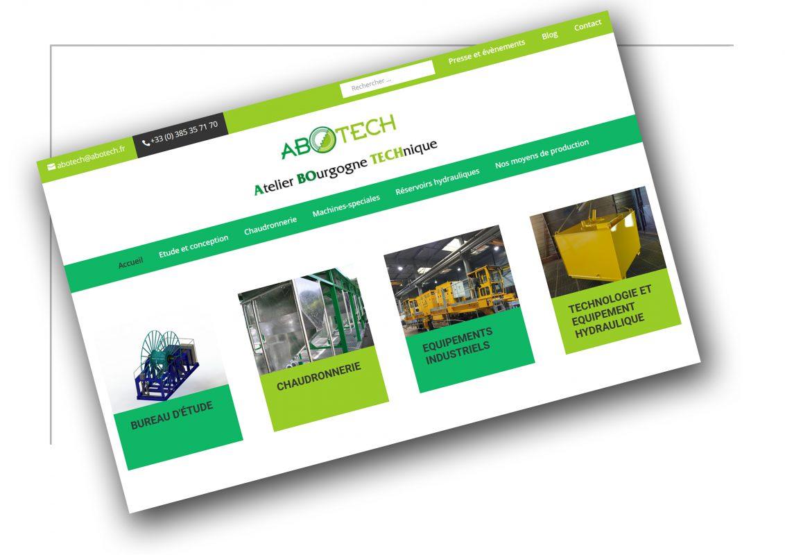 Réalisation de site internet Rhône Alpes Abotech - XXL Factory