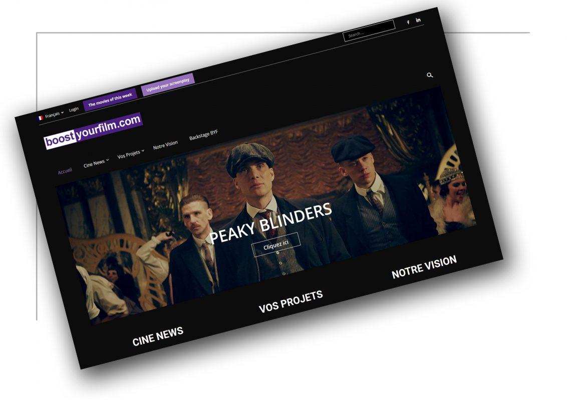 Création de sites de vente Lyon - BoostYourFilm