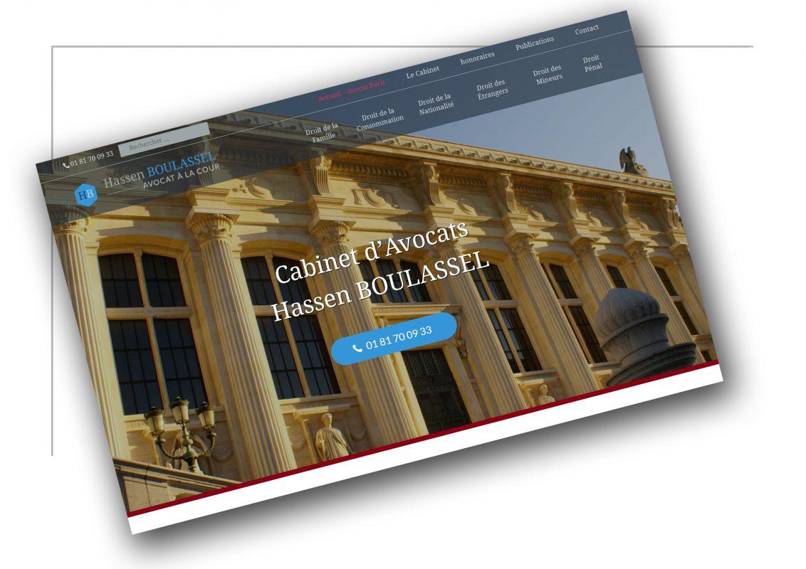 Production de site web Rhône Alpes Hassen Boulassel - XXL Factory
