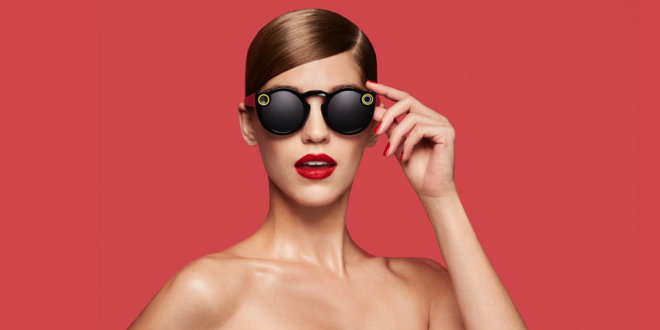 Voir la vie en rose grâce aux Spectacles de Snapchat