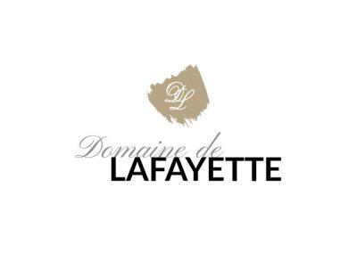 Création identité graphique Bourgogne - Domaine Lafayette
