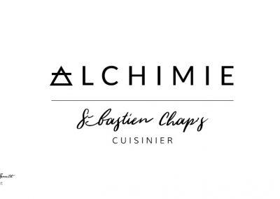Création identité graphique Rhône Alpes - Alchimie