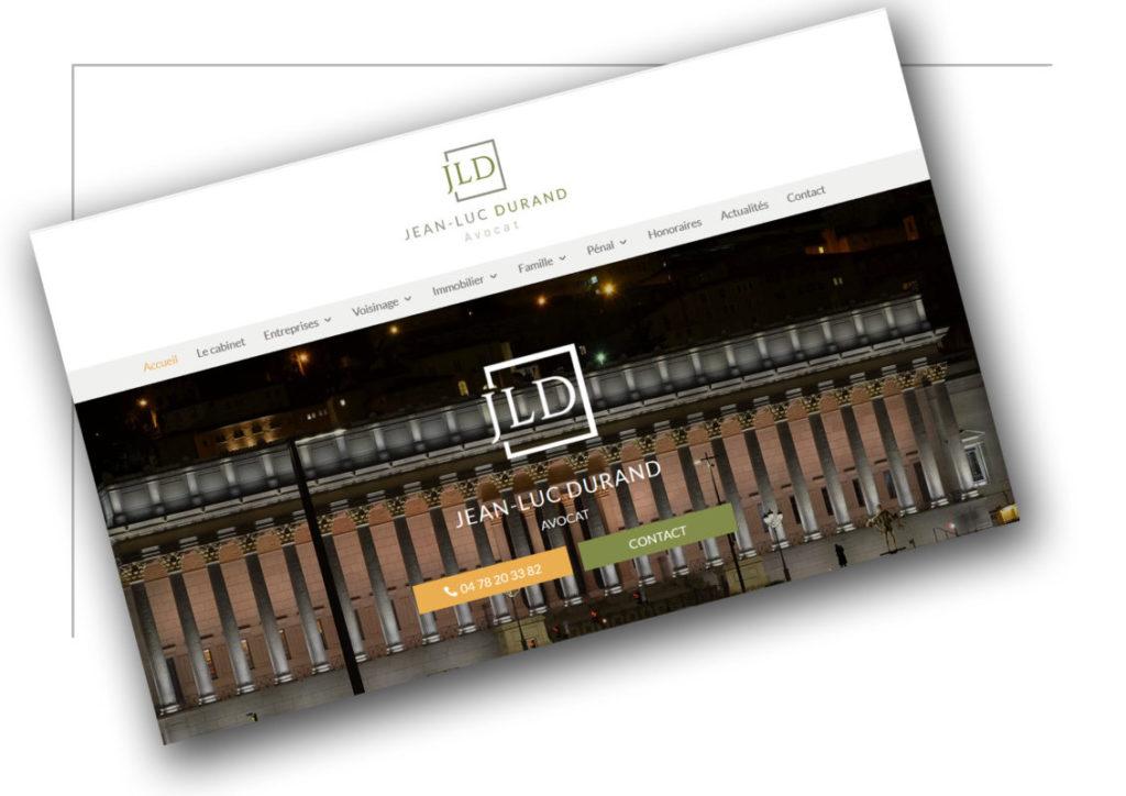 Création de site internet Grenoble JL Durand - XXL Factory