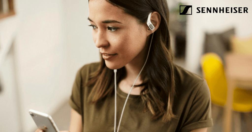Sennheiser sort de nouveaux écouteurs au son en 3D !