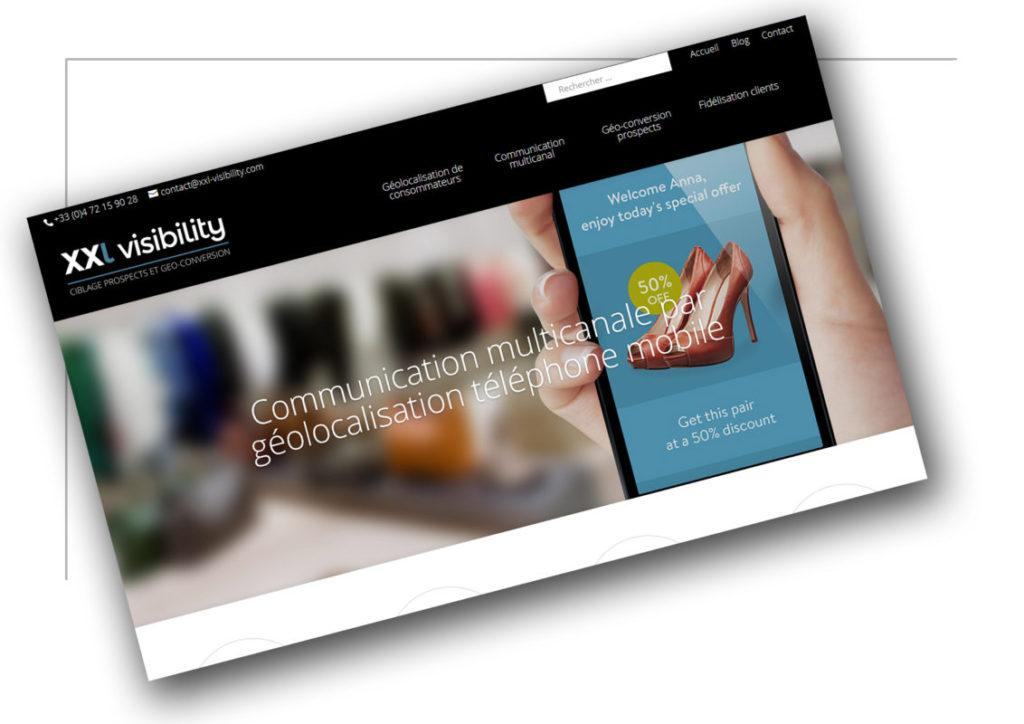 Création de site ecommerce Rhône Alpes XXL Visibility - XXL Factory
