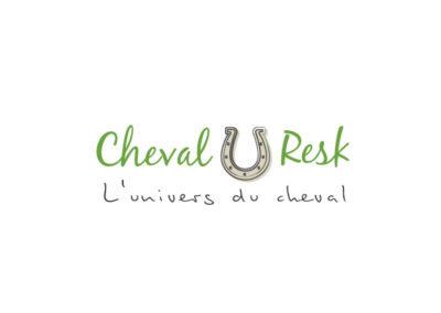 Création logo Saint-Étienne Cheval-Resk- XXL Factory
