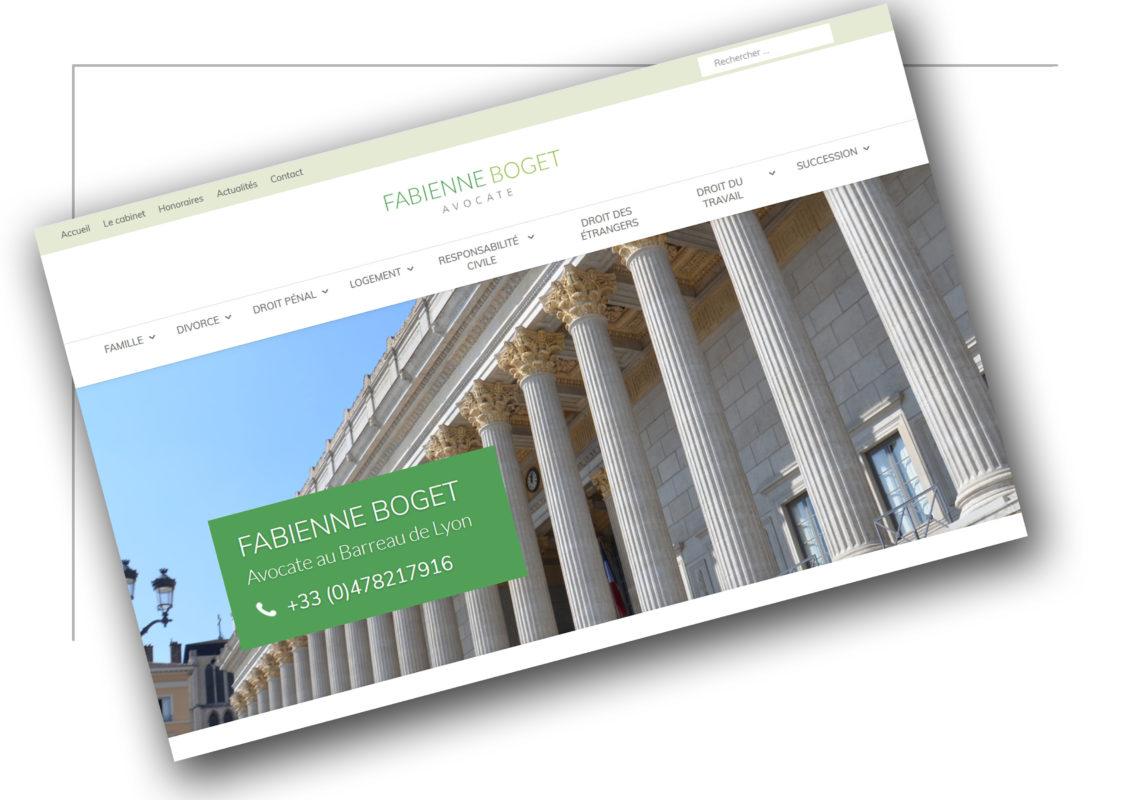 Développement de site Internet Grenoble Fabienne Boget - XXL Factory
