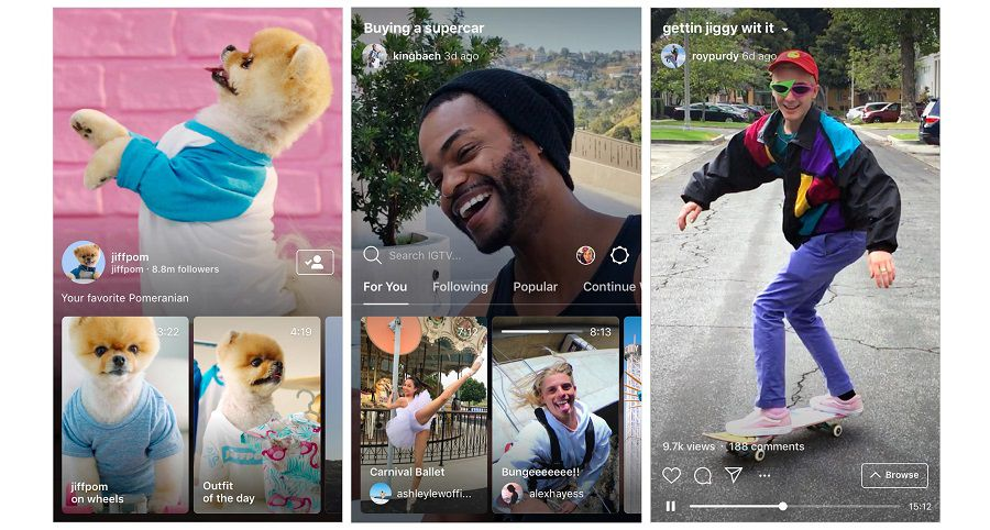 Le nouveau format vidéo d'Instagram : IGTV - XXL Factory