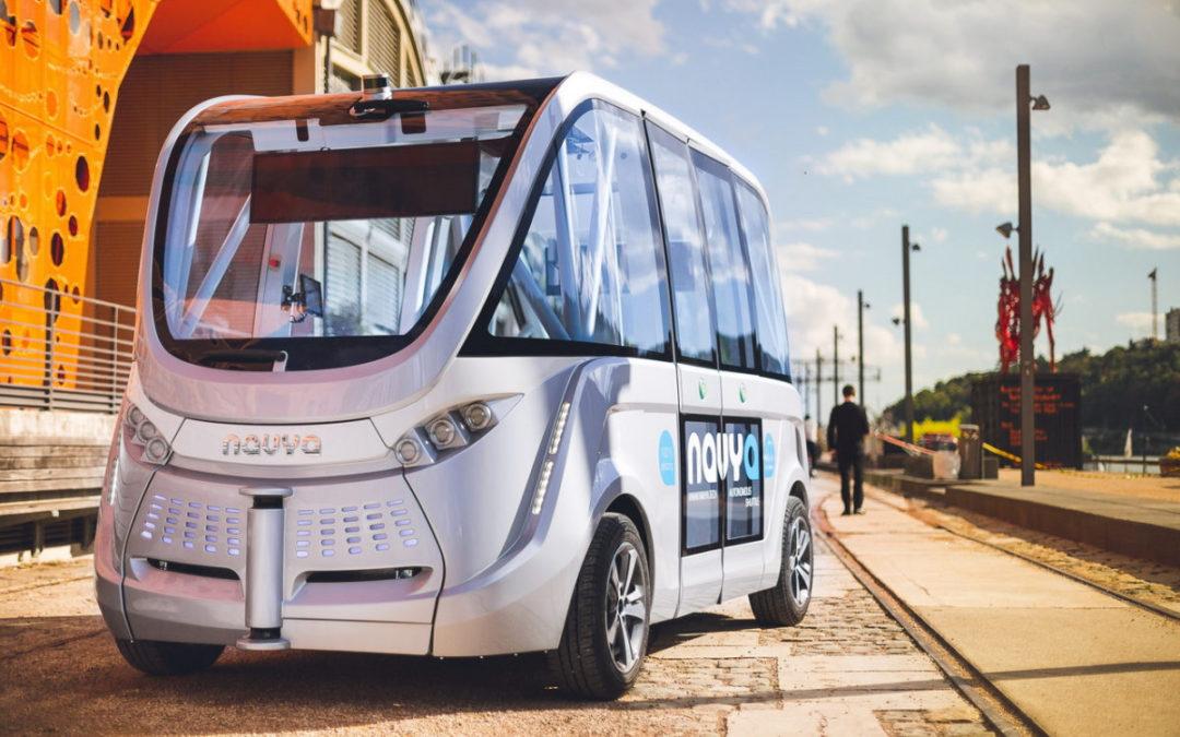 Véhicule autonome : Navya, entreprise Lyonnaise, se place désormais en bourse !