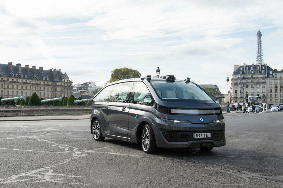 Véhicule autonome : Navya, entreprise Lyonnaise se place désormais en bourse - XXL Factory