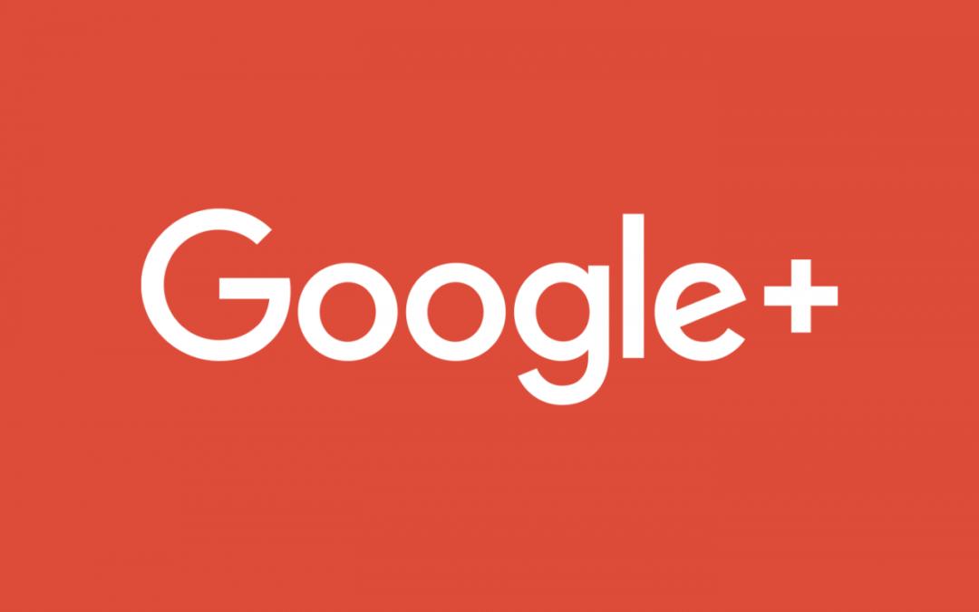 Google+, La fin d'une ère : Le 2 Avril 2019