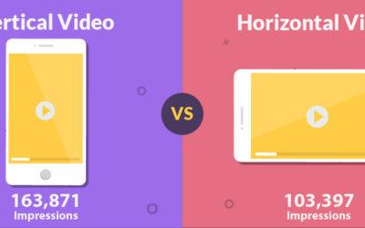 Vidéo : le format vertical à favoriser !